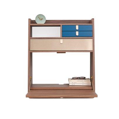 Hartô Gaston Walnut Wall Desk-listing