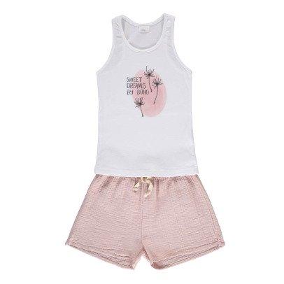 "Buho ""Sweet Dreams"" Pyjama Vest Top + Shorts-product"