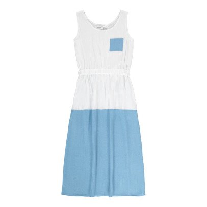 Paade Mode Rununculus Two-Tone Crêpe Dress-listing