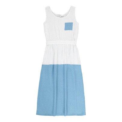 Paade Mode Vestido Crêpe Bicolor Rununculus-listing