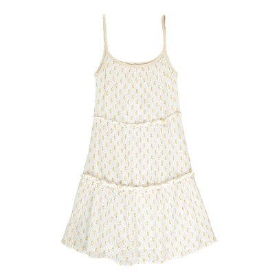 Moon et Miel Choti Leaf Sunbath Dress-listing