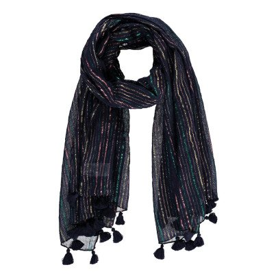 Des petits hauts Wallaby Lurex Striped Scarf-product