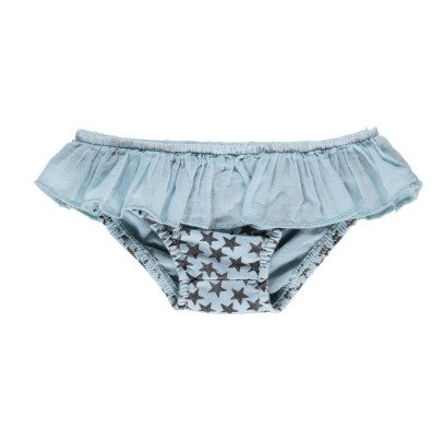Buho Miu Star Ruffle Swimming Bottoms-listing