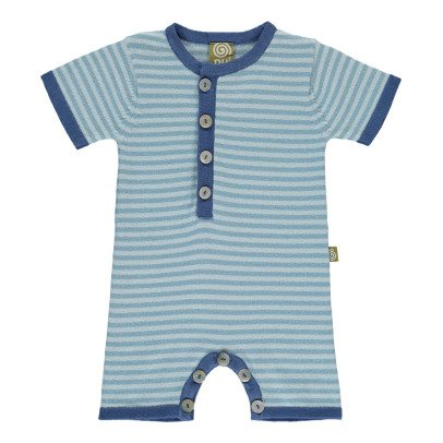 Nui Billy Striped Organic Cotton Knit Jumpsuit-product