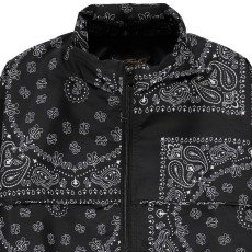Finger in the nose Countdown Bandana Print Jacket-listing