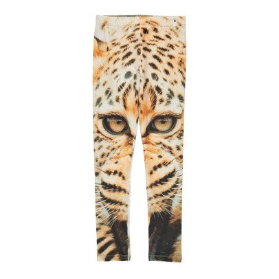 POPUPSHOP Organic Cotton Leopard Print Leggings-listing