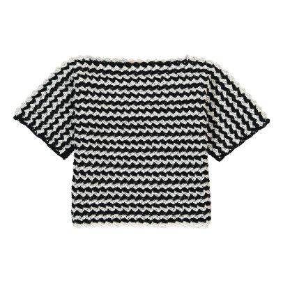 Cataleya Kurzarm Pullover aus Bio-Baumwolle -listing
