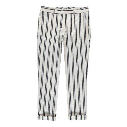 ANECDOTE Pantaloni Righe-listing