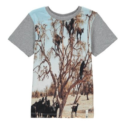 POPUPSHOP Camiseta Arbol Algodón Biológico-listing