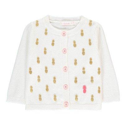 Billieblush Vardigan Lurex Ananas -listing