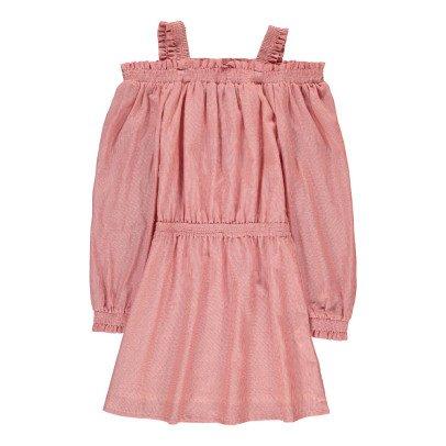 Little Remix Milla Striped Smock Dress-listing