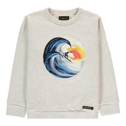 Finger in the nose Sweatshirt Surfer Stickerei -listing