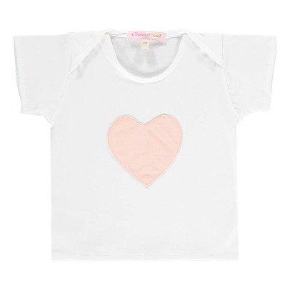 Moon et Miel Camiseta Patch Corazón-listing