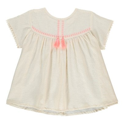Louise Misha Daisy Cotton and Linen Blouse-product