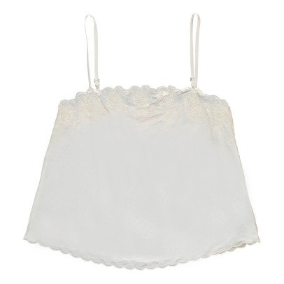 Louise Misha Julia Embroidered Silk Top - Women's Collection-listing