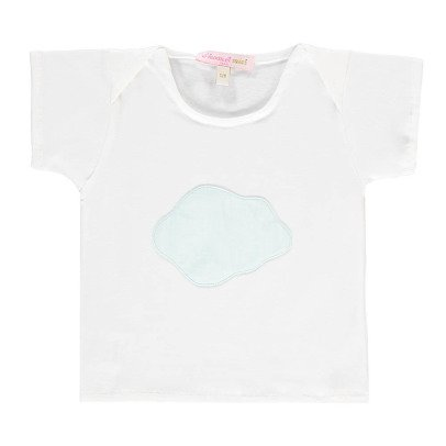 Moon et Miel T-shirt Patch Nuage-listing