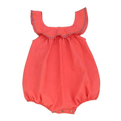 Ketiketa Isabel Embroidered Detail Romper-product