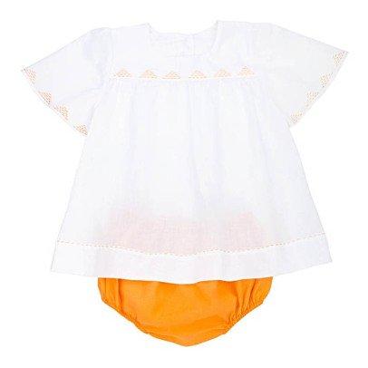 Ketiketa Vestido Triángulos Bordados + Bloomer Alba-listing