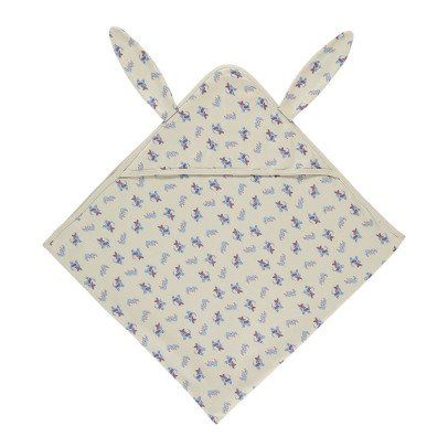 Oeuf NYC Organic Pima Cotton Chihuahuas Hooded Swaddle-listing