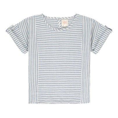 Swildens Teen Qezalu Striped Blouse-listing