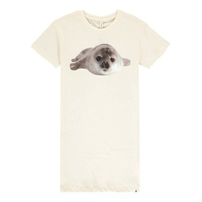 POPUPSHOP Organic Cotton Seal Night Shirt-listing