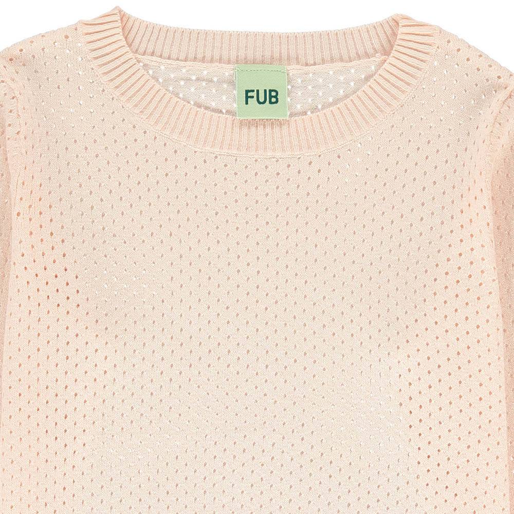 Hemstitch Organic Cotton Jumper-product