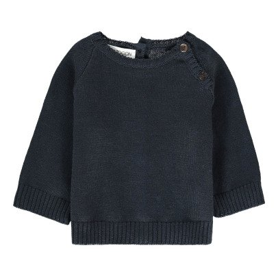 Pequeno Tocon Jumper with Button-up Neck-listing