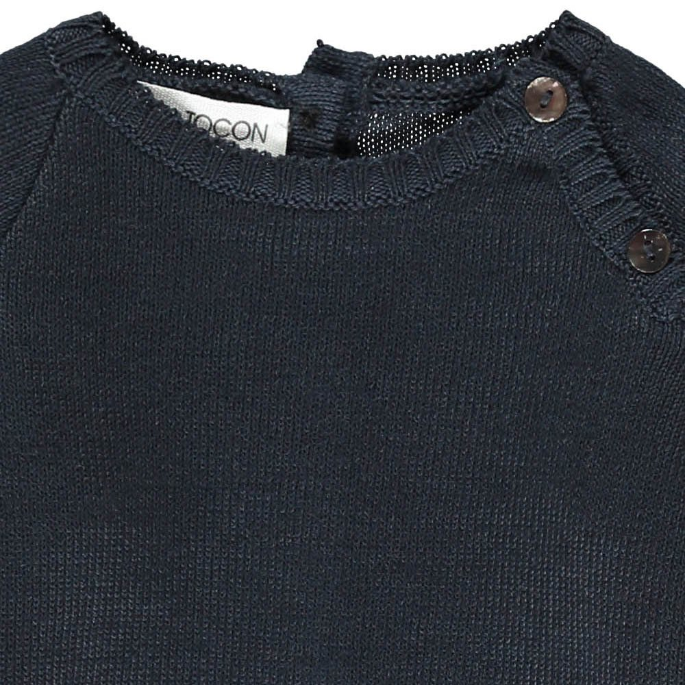 Pequeno Tocon Jumper with Button-up Neck-product