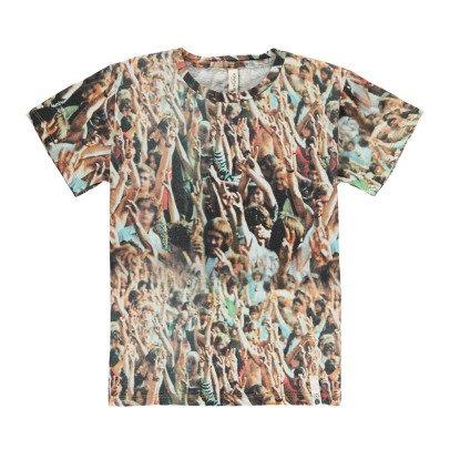 POPUPSHOP T-Shirt Loose Woodstock aus Bio-Baumwolle -listing