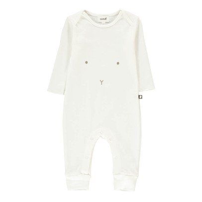 Oeuf NYC Organic Pima Cotton Rabbit Jumpsuit-product