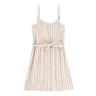 Swildens Teen Quiriko Striped Button-Up Dress-listing