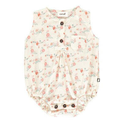 Oeuf NYC Pima Cotton Foral Romper-product