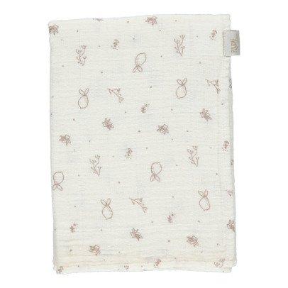 Poudre Organic Petit lange à motifs 60x60 cm-listing