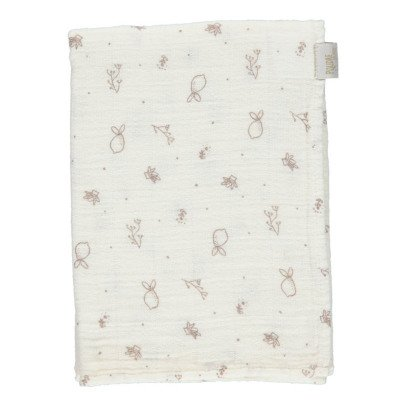 Poudre Organic Small Printed Swaddle 60x60cm-listing