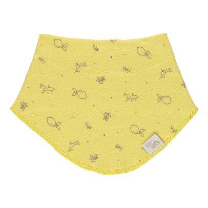 Poudre Organic Bavoir bandana à motifs-listing