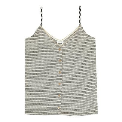 Blune Vest Top with Buttons-listing