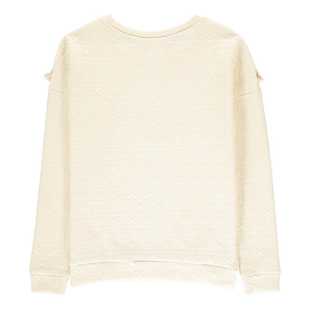Sweat Texturé Franges Belle Etoile-product