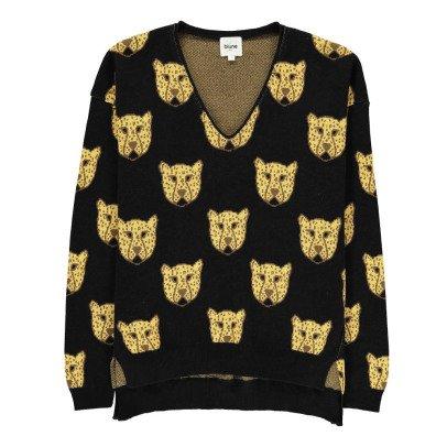 Blune Grrr… Leopard Jumper-listing