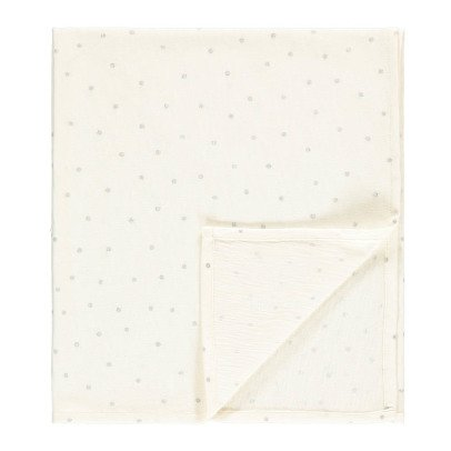 Louis Louise Silver Polka Dot Ange Swaddle 55x65 cm-listing