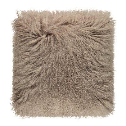Maison de vacances Cojín básico en piel de cabra Topo -listing