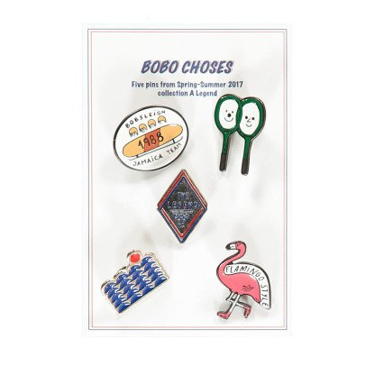 Bobo Choses Pack of 5 Pins-listing