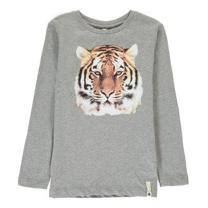 POPUPSHOP Camiseta Tigre Algodón Biológico-listing
