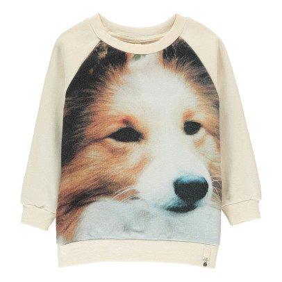 POPUPSHOP Sweatshirt Hund aus Bio-Baumwolle -listing
