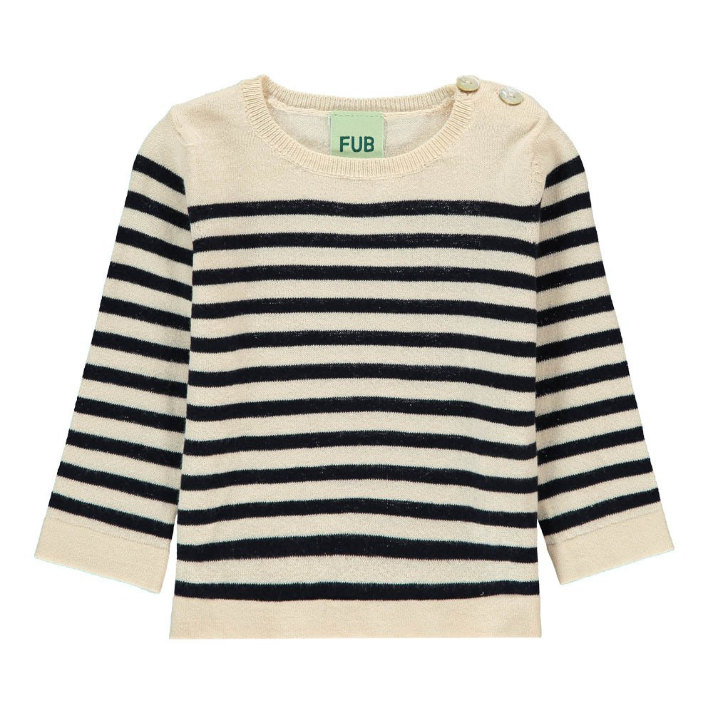 Oragnic Cotton Striped Jumper-product