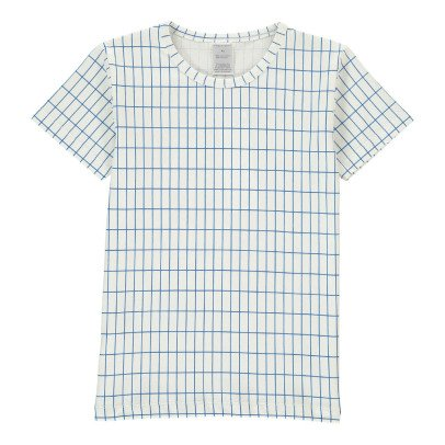 tinycottons Checked Oversize T-Shirt -listing