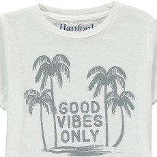 "Hartford T-shirt Palmiers ""Good Vibes Only""-listing"