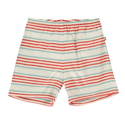 Oeuf NYC Pima Cotton Striped Swimming Trunks-product