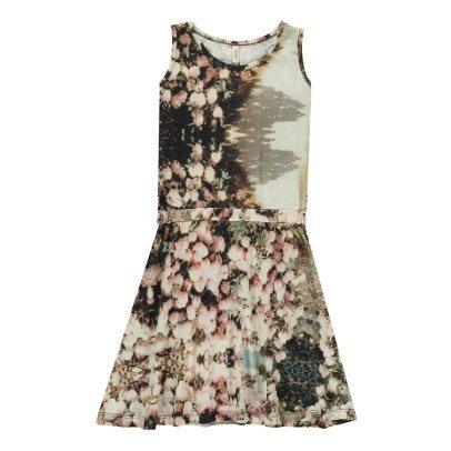 POPUPSHOP Vestido Flores Algodón Biológico-listing