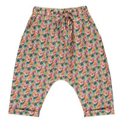 Poppy Rose Sarouel Liberty Tropical Coco-listing
