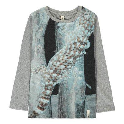 POPUPSHOP T-Shirt Eidechse aus Bio-Baumwolle -listing